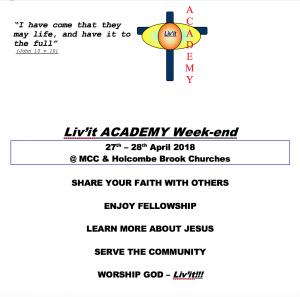 Livit Academy Weekend