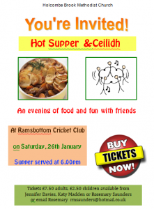Ceilidh @ Ramsbottom Cricket Club